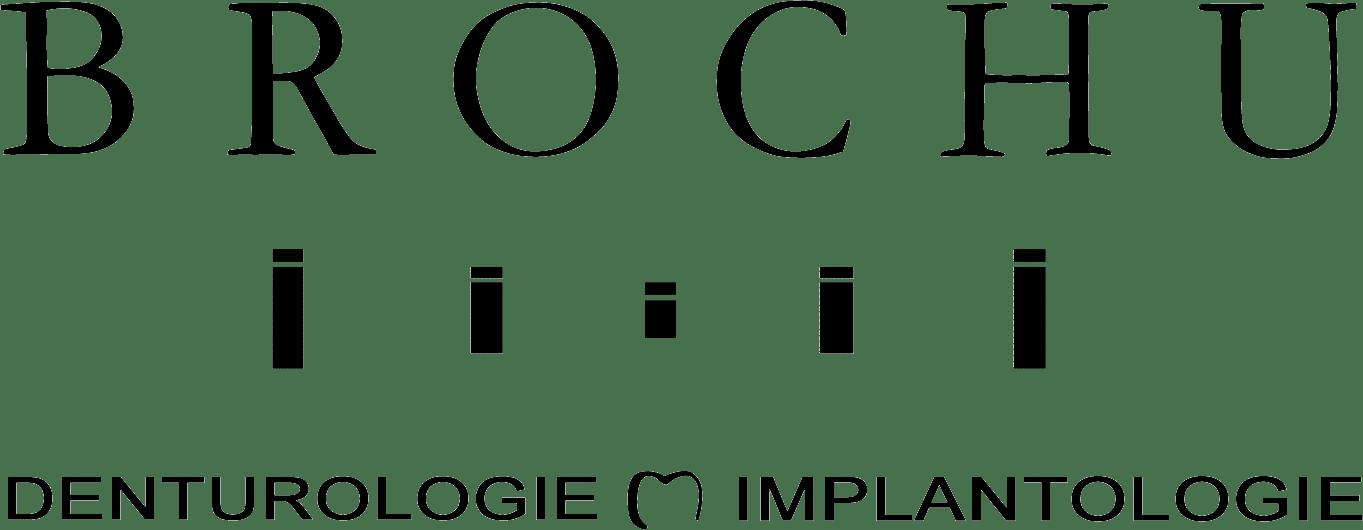 David Brochu Denturologiste Logo